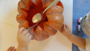 Halloween aux micro-crèches La Fée des Sourires et Pomme d'Happy