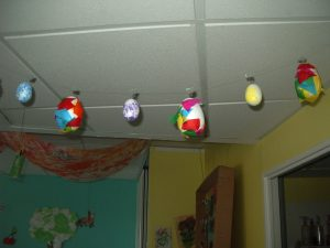 la micro-crèche dijonnaise la fée des sourires fête Pâques