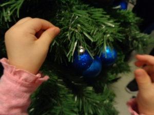 Noël aux deux micro-crèches Dijon Toison d'Or