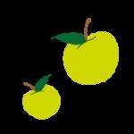 logo pomme d'happy crèches Dijon Toison d'Or