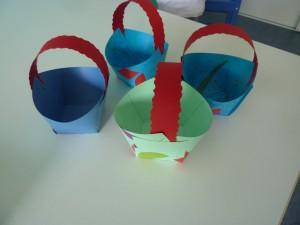 Paniers de Pâques à la Fée des Sourires et Pomme d'Happy, crèches à Dijon