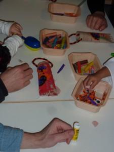 sac à bonbons halloween à la crèche la Fée des Sourire