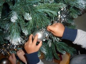 Fête de Noël à la Fée des Sourires crèche à Dijon